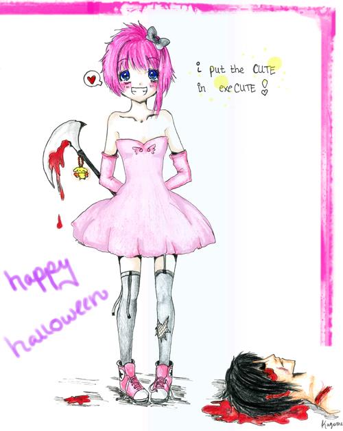 happy halloween! by KagomeHigurashi