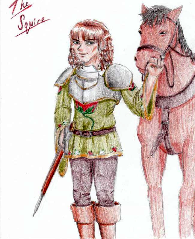 an analysis of the squires tale by geoffrey chaucer Summary the host invites the squire to tell a love story, assuming the youth to be knowledgeable in such matters the squire says he really does not know that much, but he agrees to tell a story.