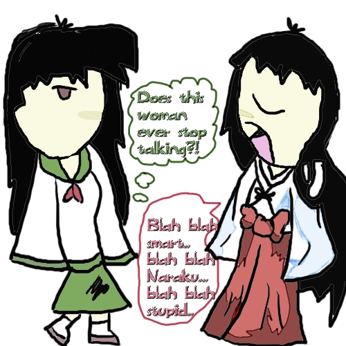 Stop Talking by Kagomes_Twin_Sister