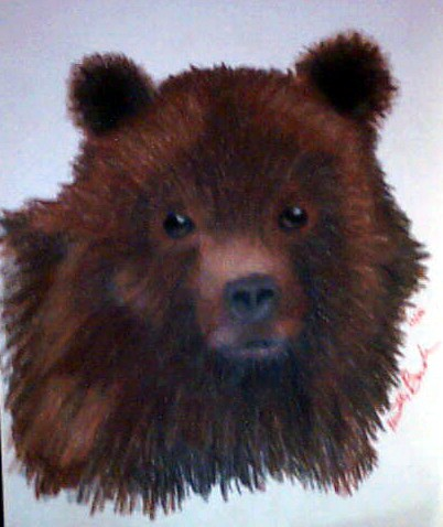 Bear by Kaida_Dragon
