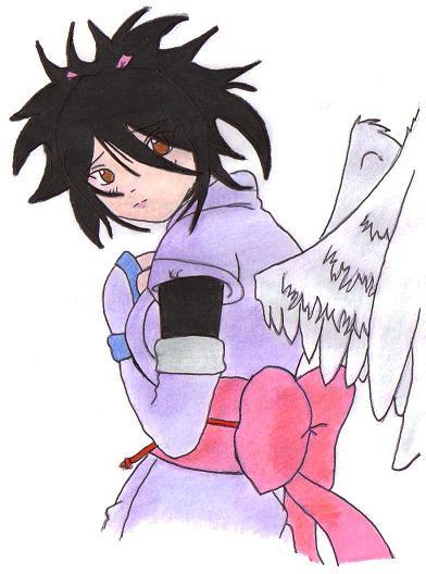 Sheena with wings by Kairi_KH