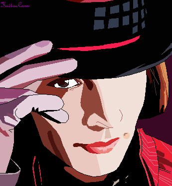 Willy Wonka (johnny depp) by KaitouCoon