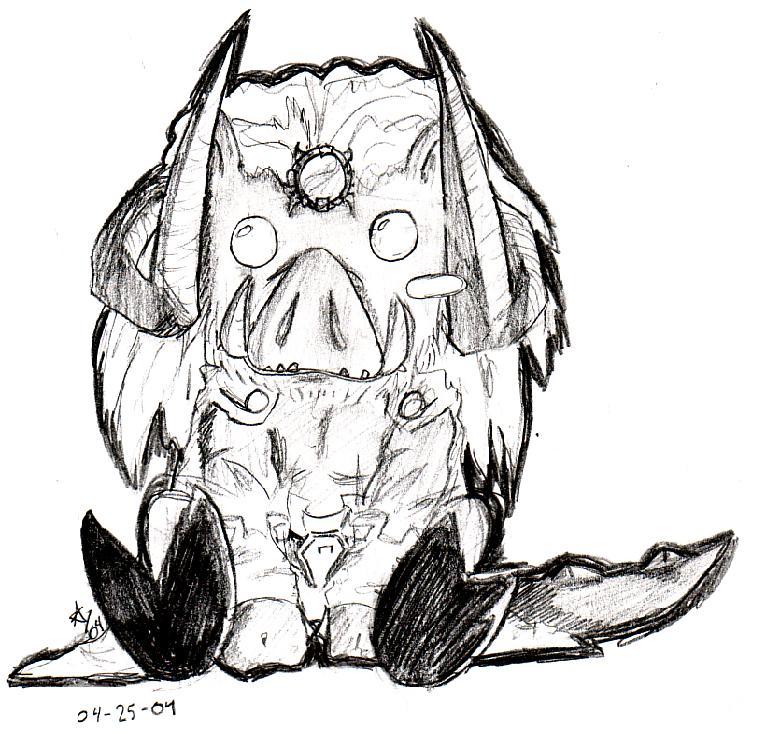 Ganon-Pig by Kalidah