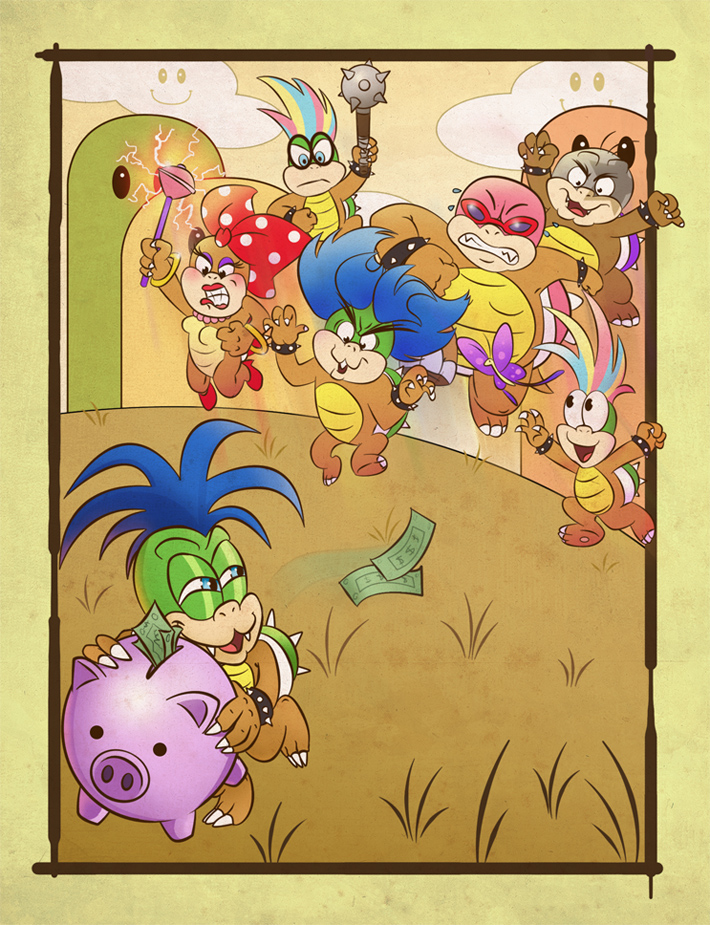 Koopa Kids by KaptainH