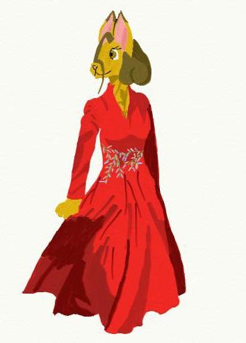 Anthro Bori in gown by KaraCrane