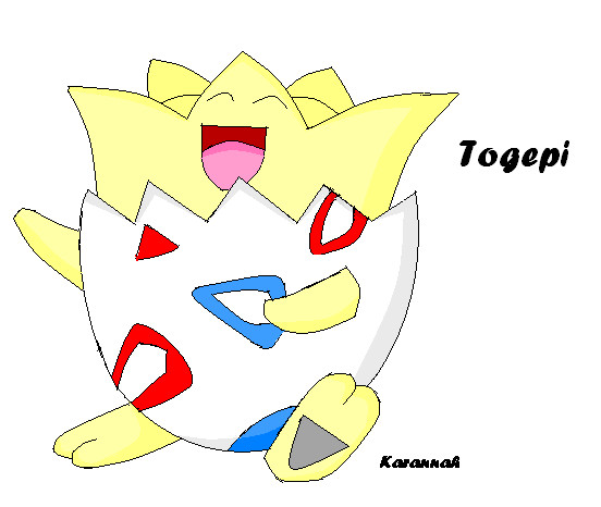 Togepi(contest entry) by Karannah