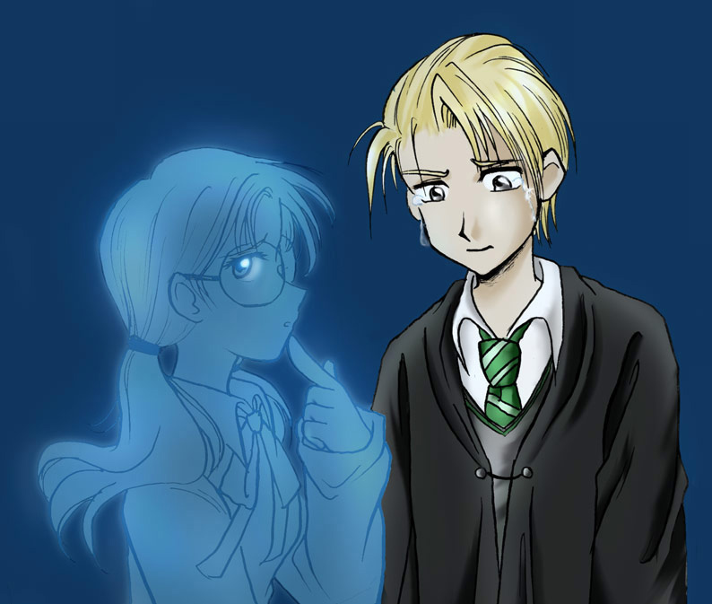 book 6 Myrtle and draco crying!!! by Karenchan