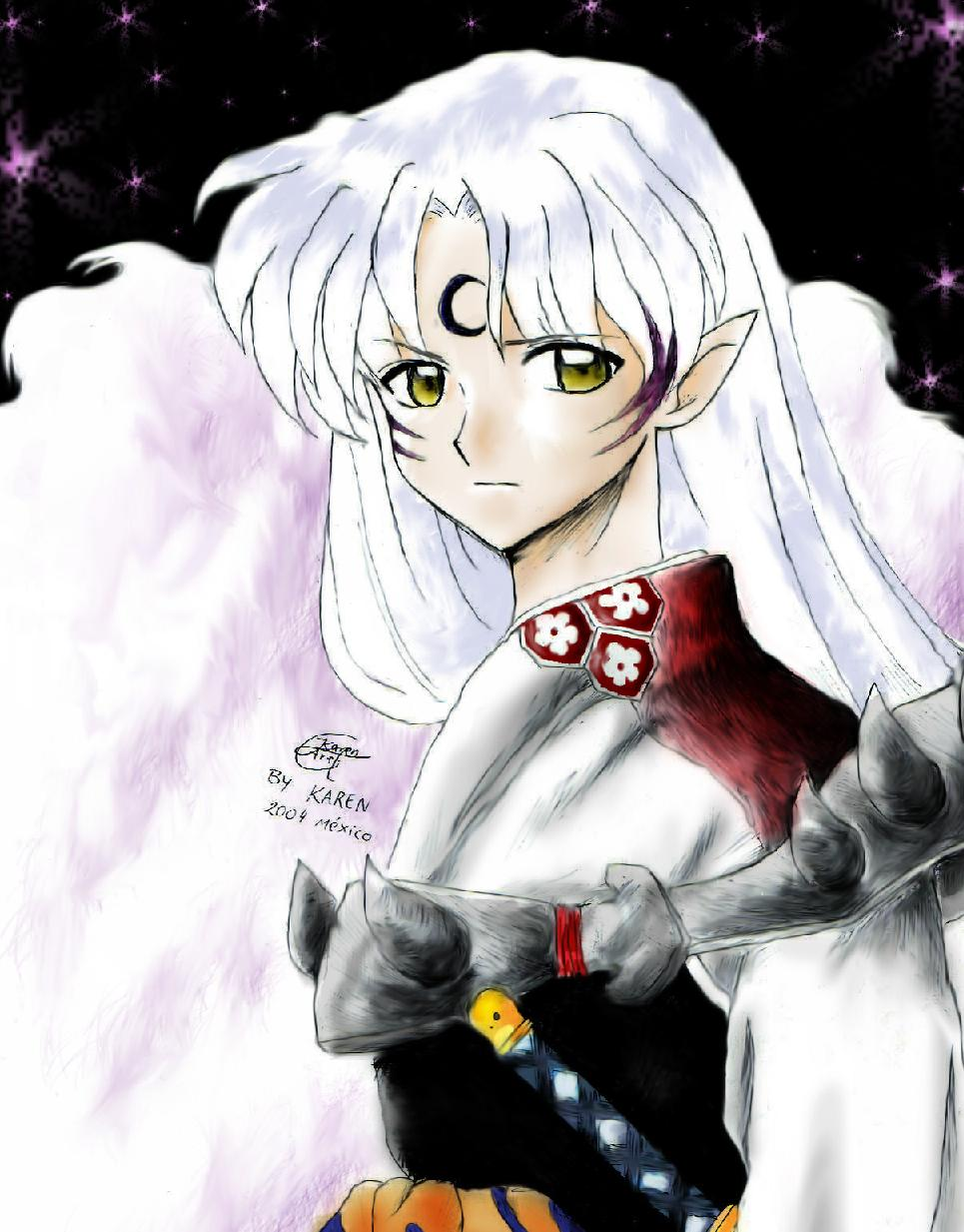 Lord sesshomaru by Karenchan