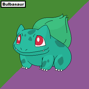 Pokemon: #001 Bulbasaur by Kari-1994