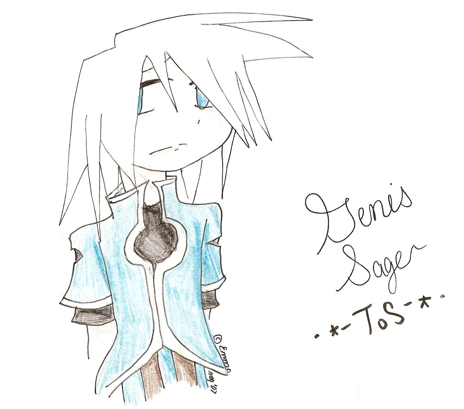 Genis is saaaaaad by Kari