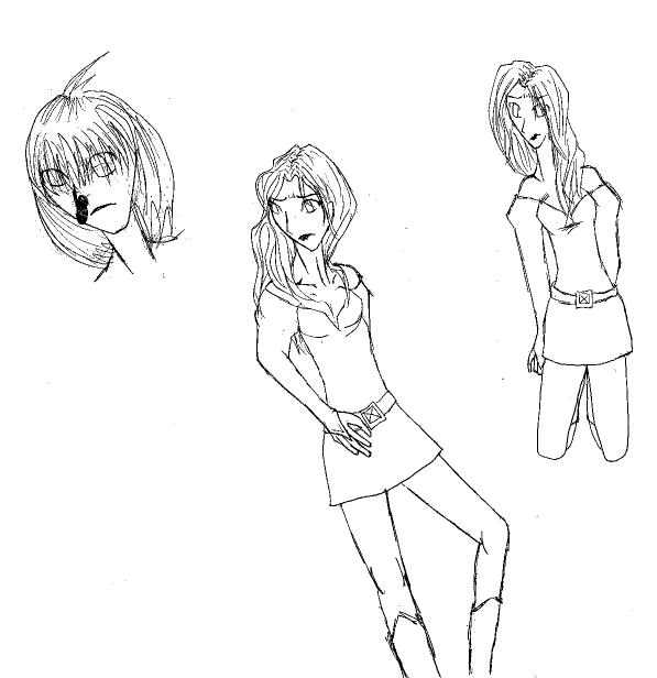 Doodle of Jean Grey by Karikoe