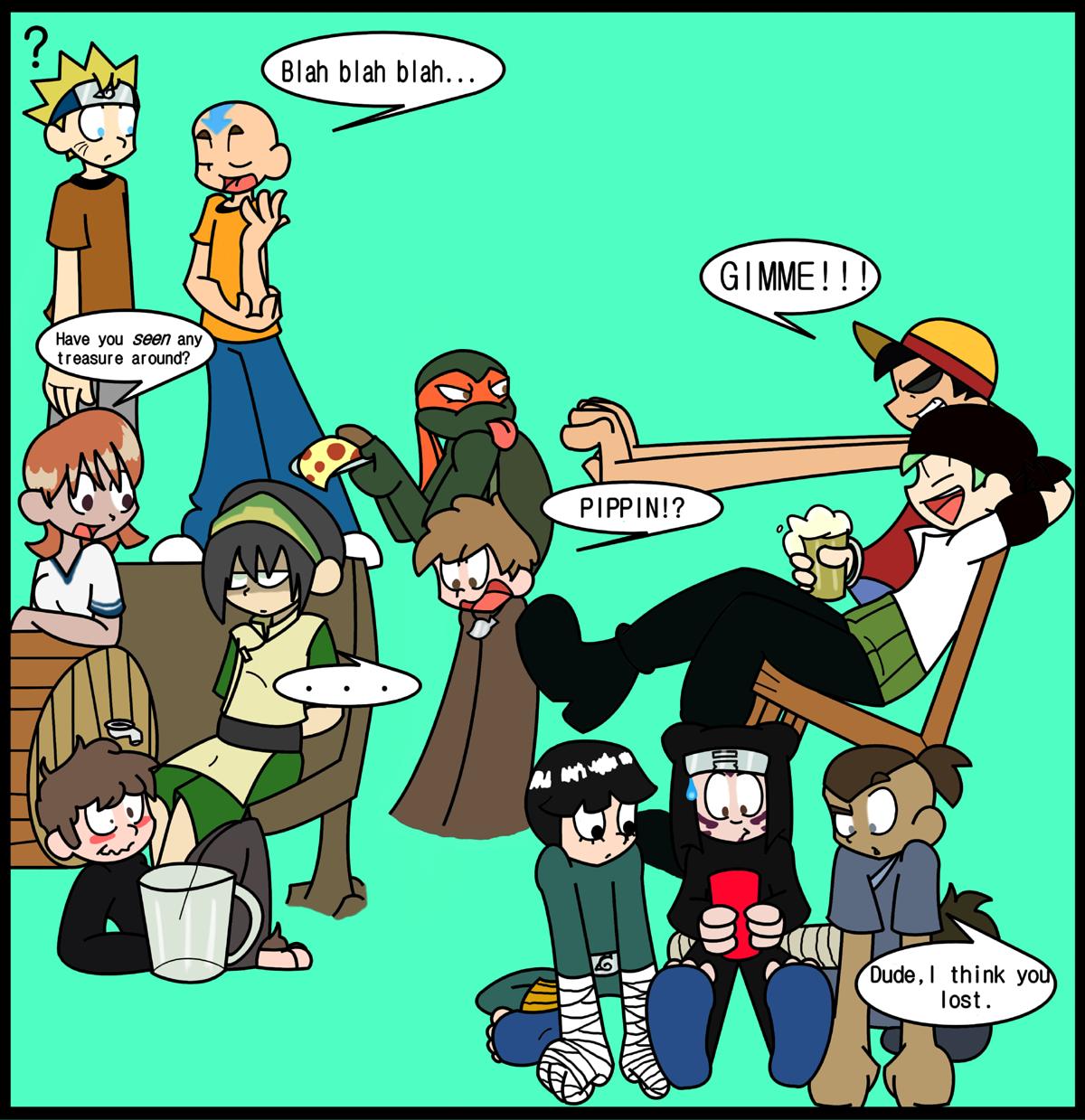 Wacky New Yearz Party by KartoonKimmy