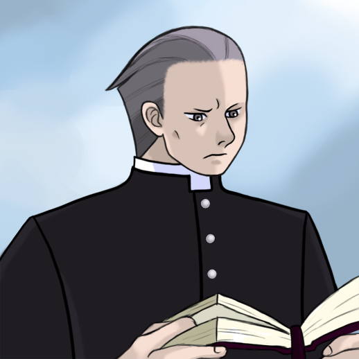 Father Edgeworth by KartoonKween