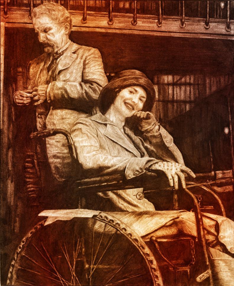 Mathilde et Rouvière by Kate