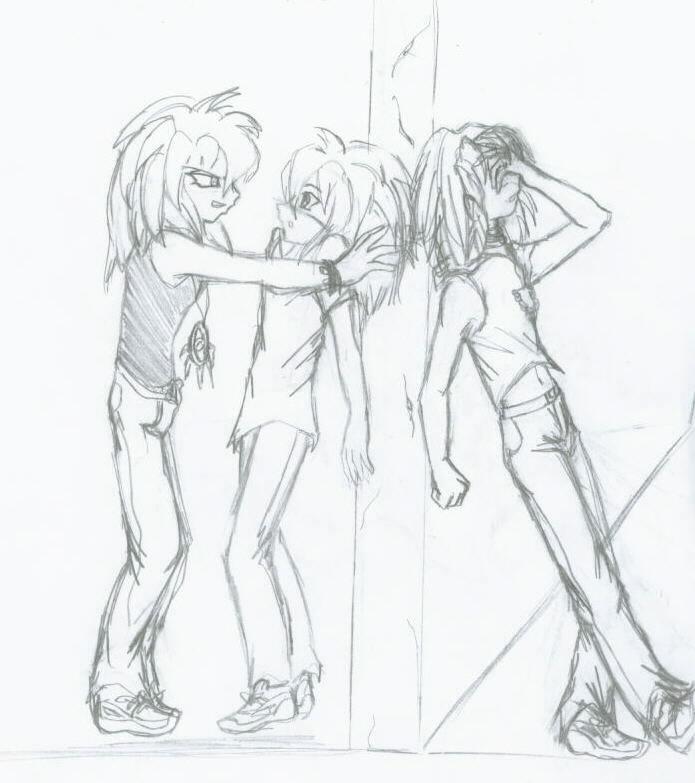 BakuraxBakuraxMarik Love Triangle by Katgi-Jaganshi