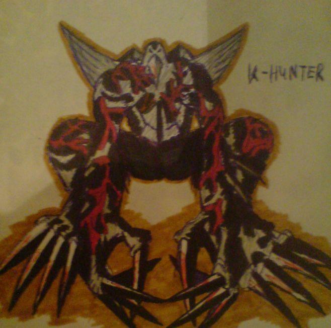 Crow-Tyrant (OC) by KathanKratz