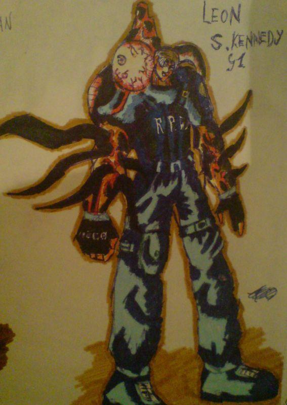 Leon Mutant (OC) by KathanKratz