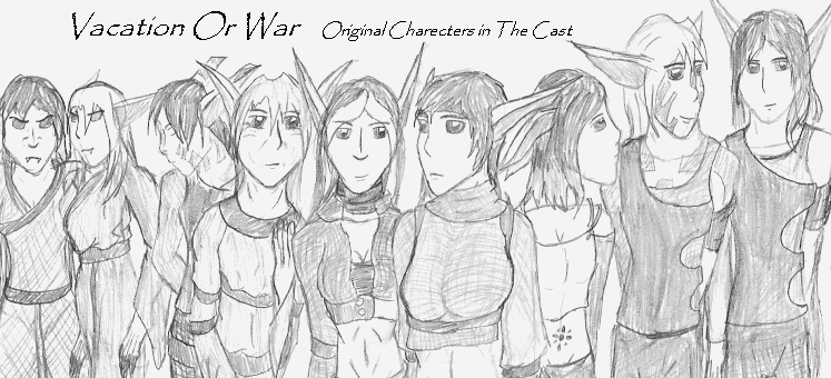 Cast of FanFiction by Kathna