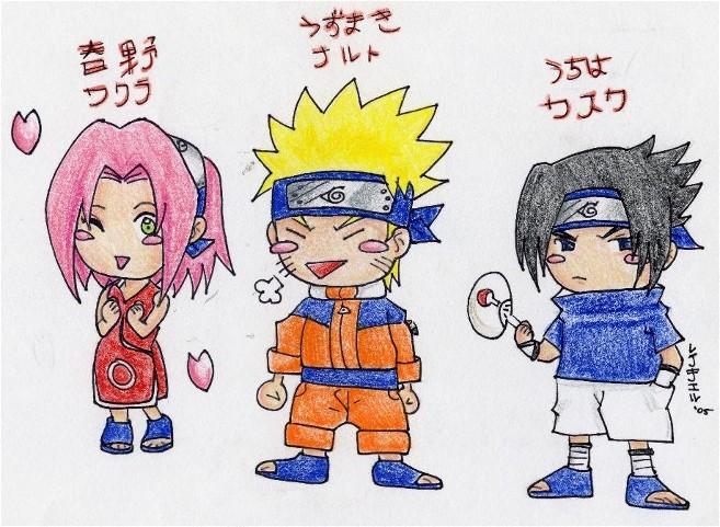 Chibi Squad 7 by Kawaii_Kimimaro