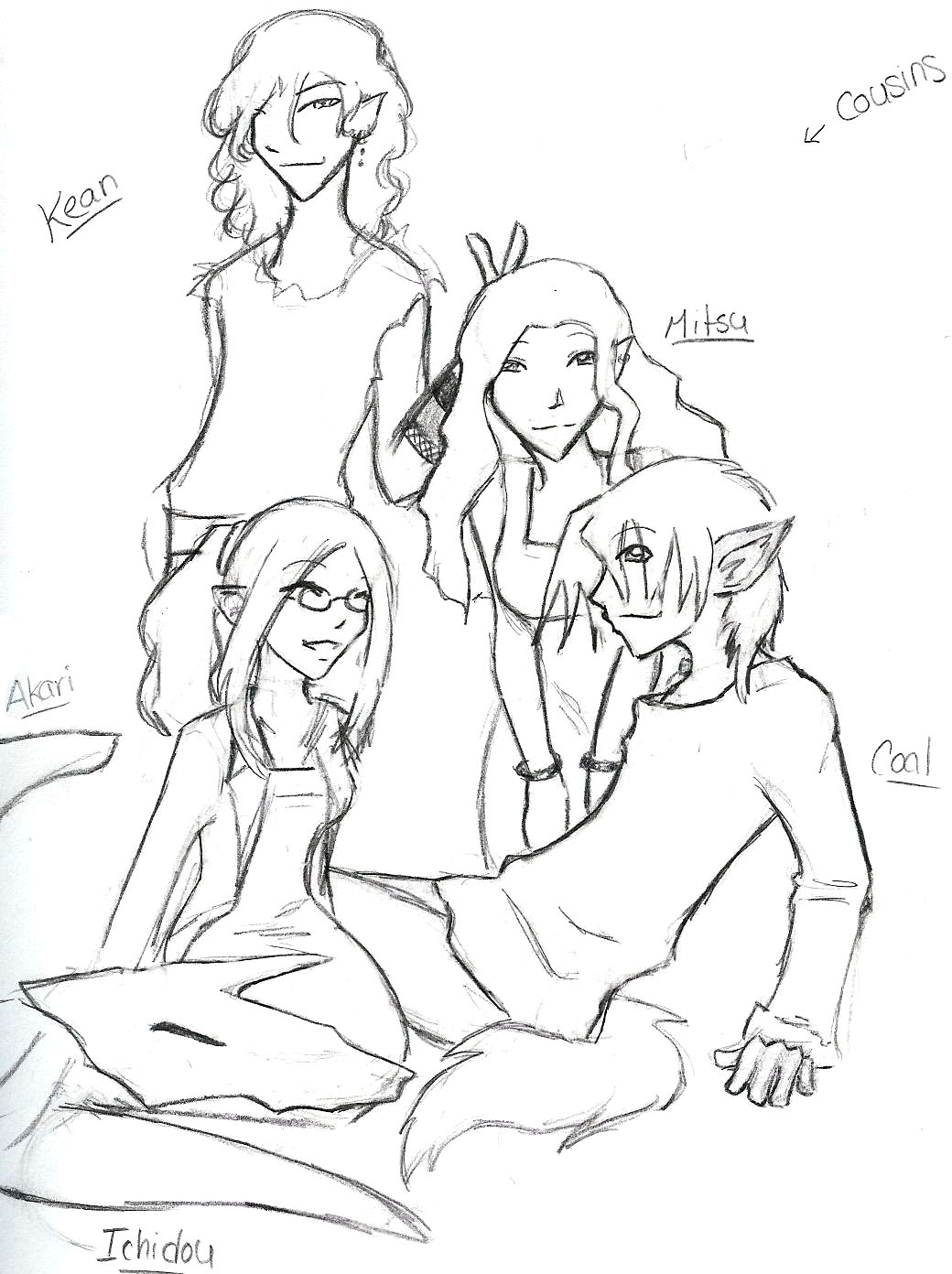Cousins by Keesh