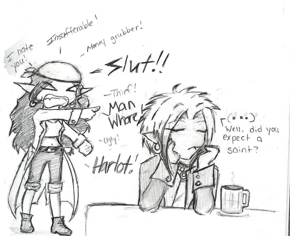 Arashi's a 'Ho! by Keesh