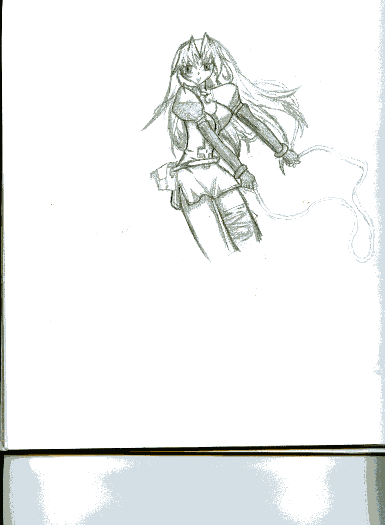 Eclair ( 1st scan picture) by Keidolya