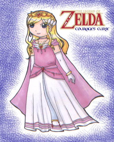 LoZ: Courage's Curse: Princess Zelda by Keily
