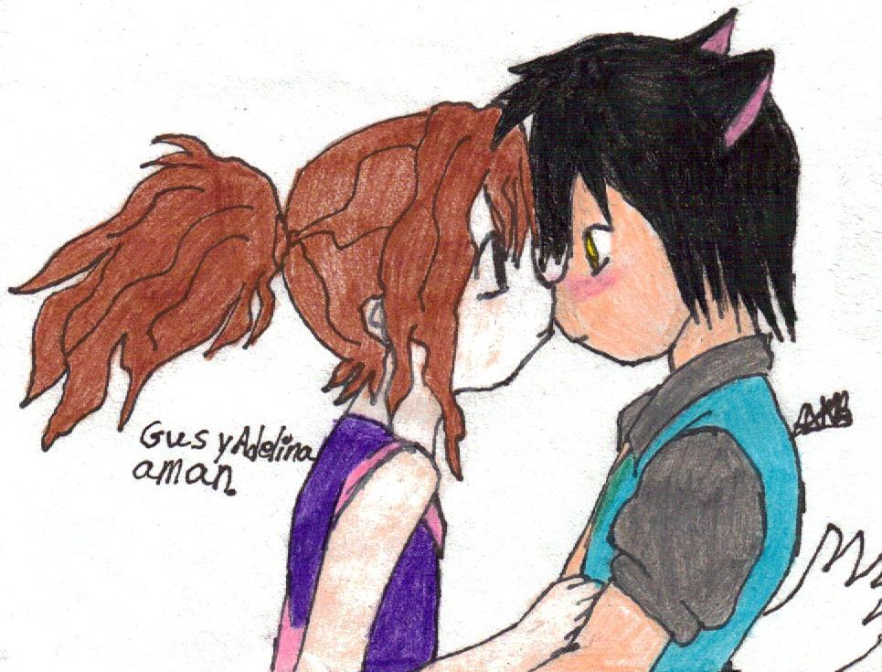 Gus is Blushing :3 by Kelalailea