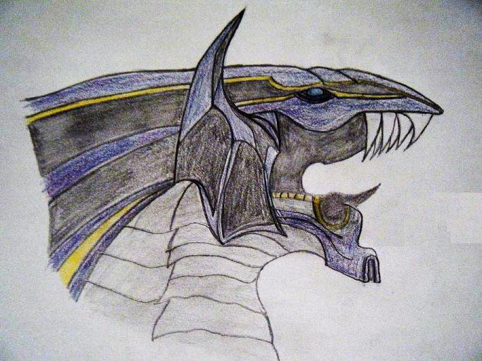 Bahamut FFX by KennethKerr