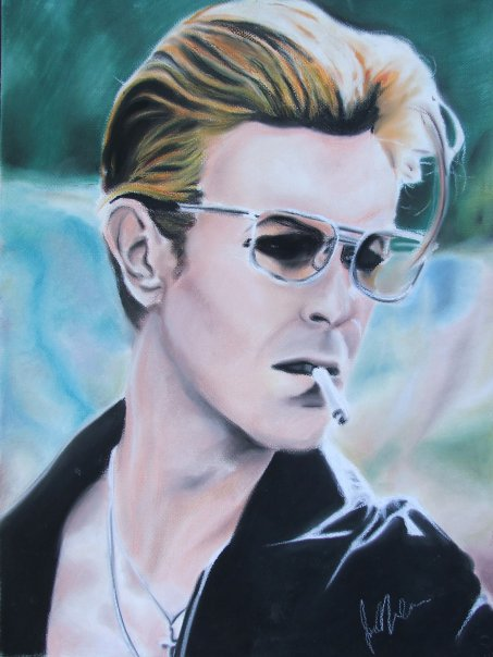 David Bowie by Kentcharm