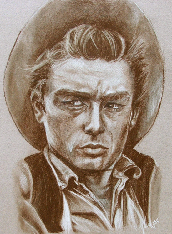 Rebel Without a Cause- James Dean by Kentcharm
