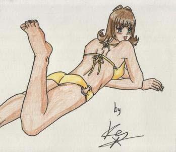 Bikini Selphie by Kes