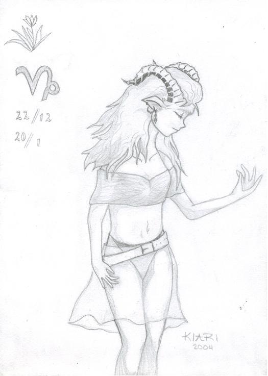 Manga Zodiacs - Capricorn by Kiari