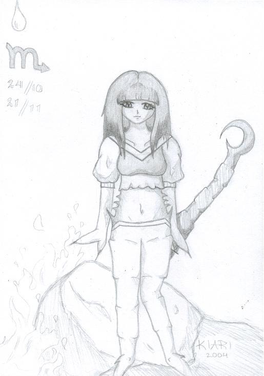 Manga Zodiacs - Scorpio by Kiari