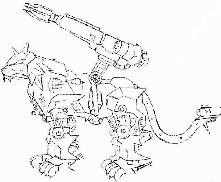 coloring pages zoids - photo#9