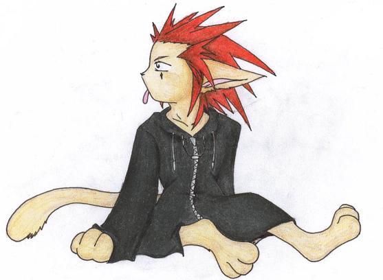 Axel Kitty by KibaFang