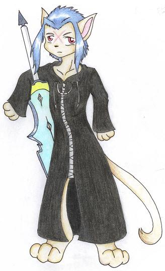 Saix Kitty by KibaFang