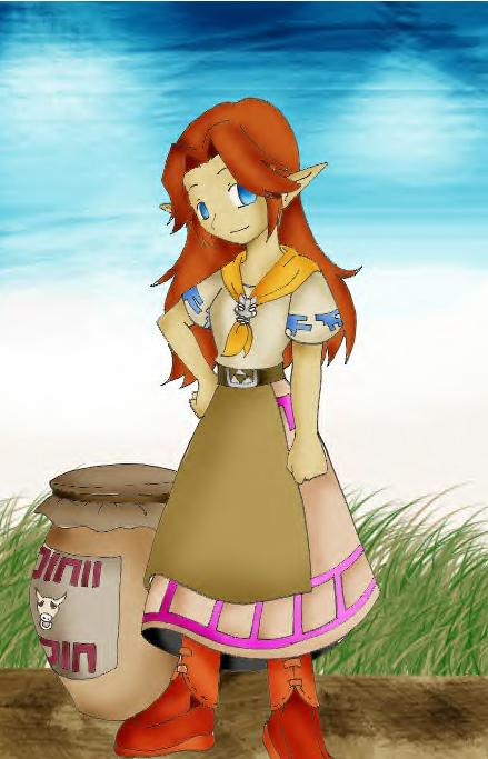 Ranch Girl Malon by Kibachan14