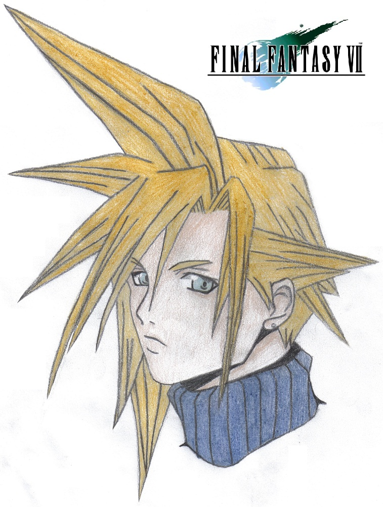 Cloud Strife by KidOnBass