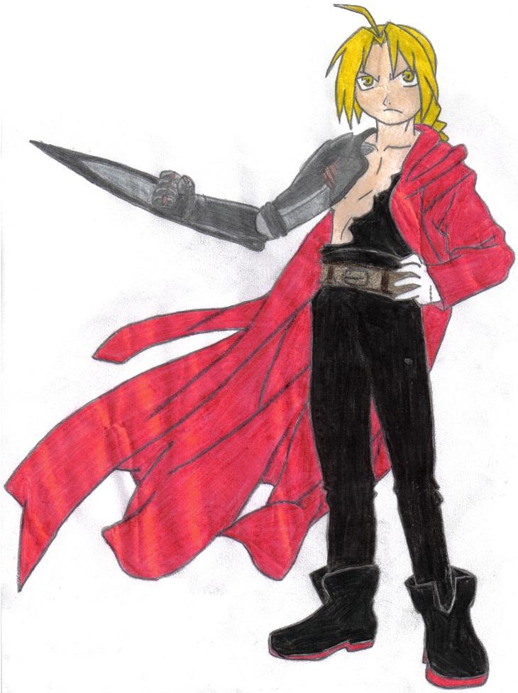 Edward Elric by KidOnBass