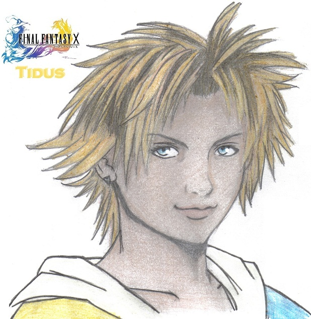 Tidus - Request for Airo by KidOnBass