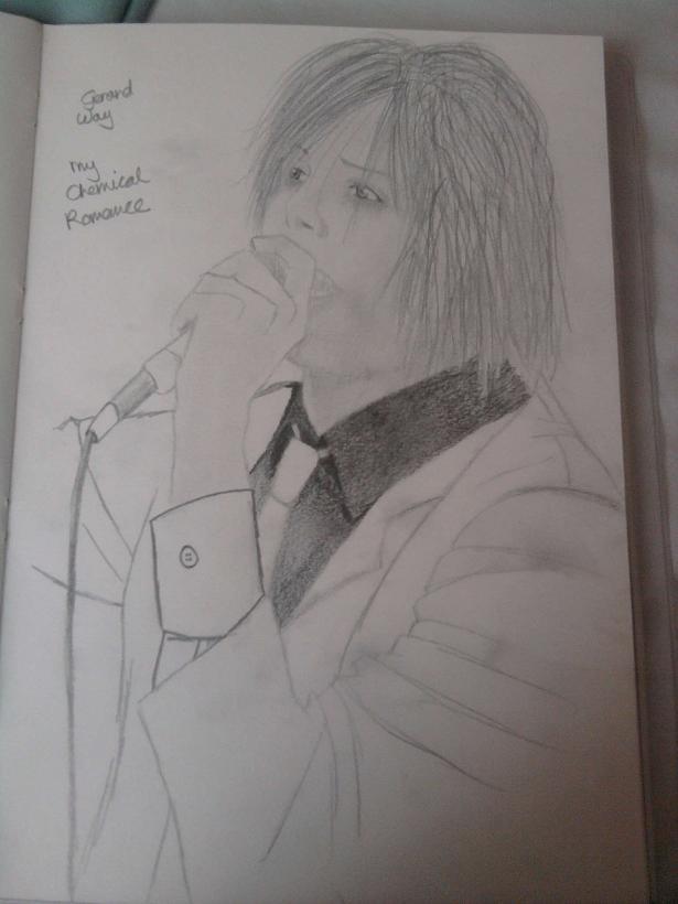 Gerard Way by KidOnBass
