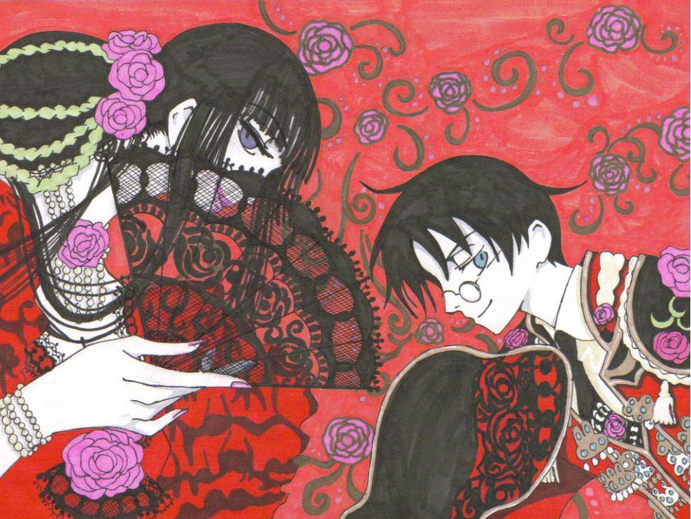 Red Lady by Kiera