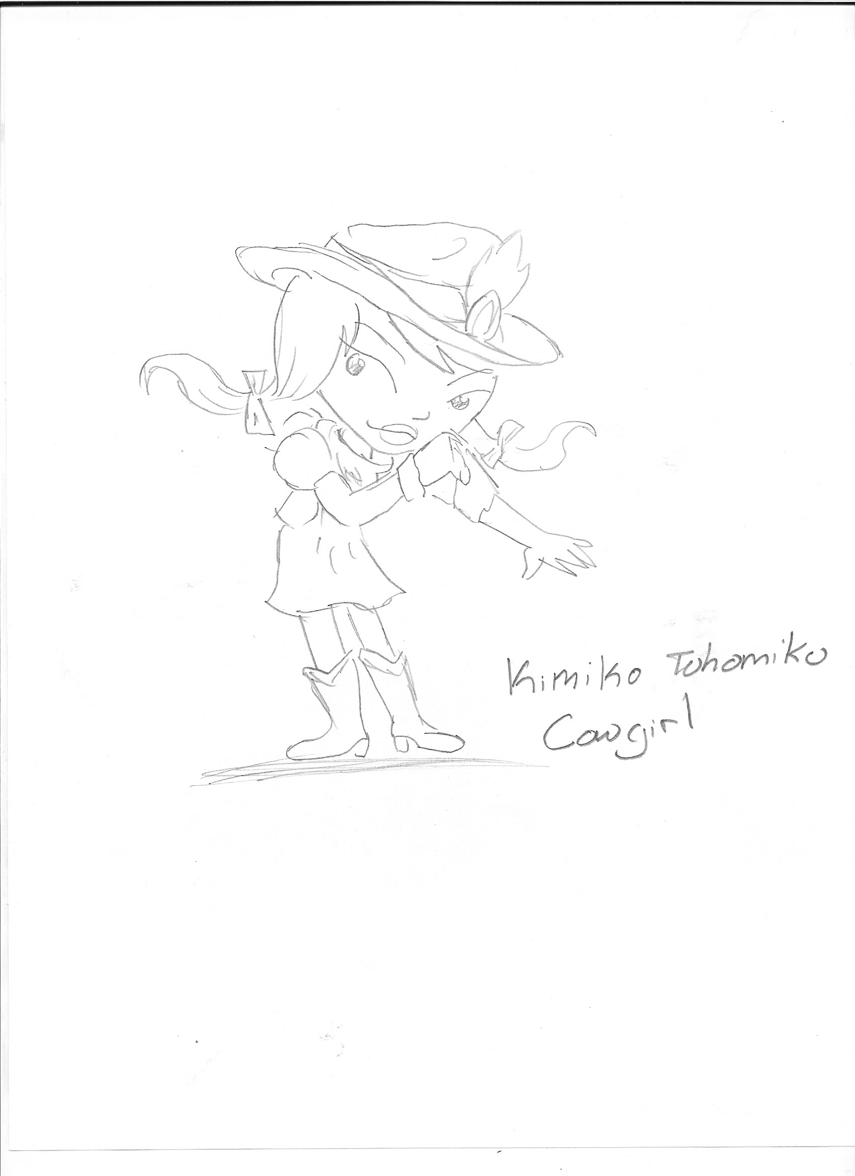 Kimiko the cowgirl by Kimikoprincesspancho