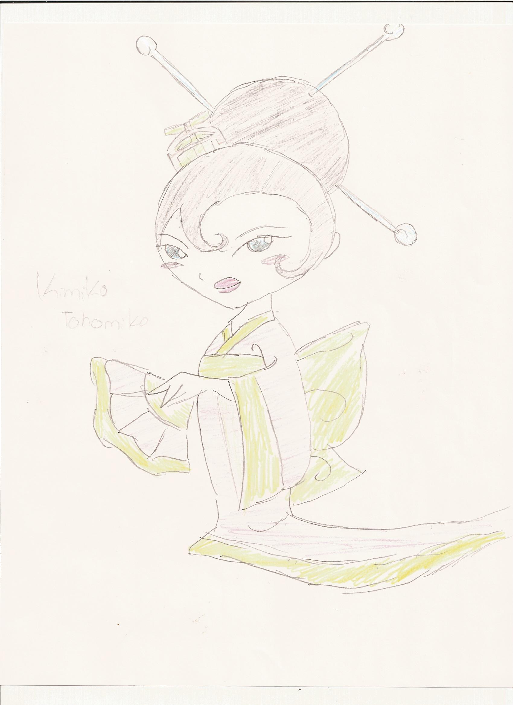 kimOno by Kimikoprincesspancho