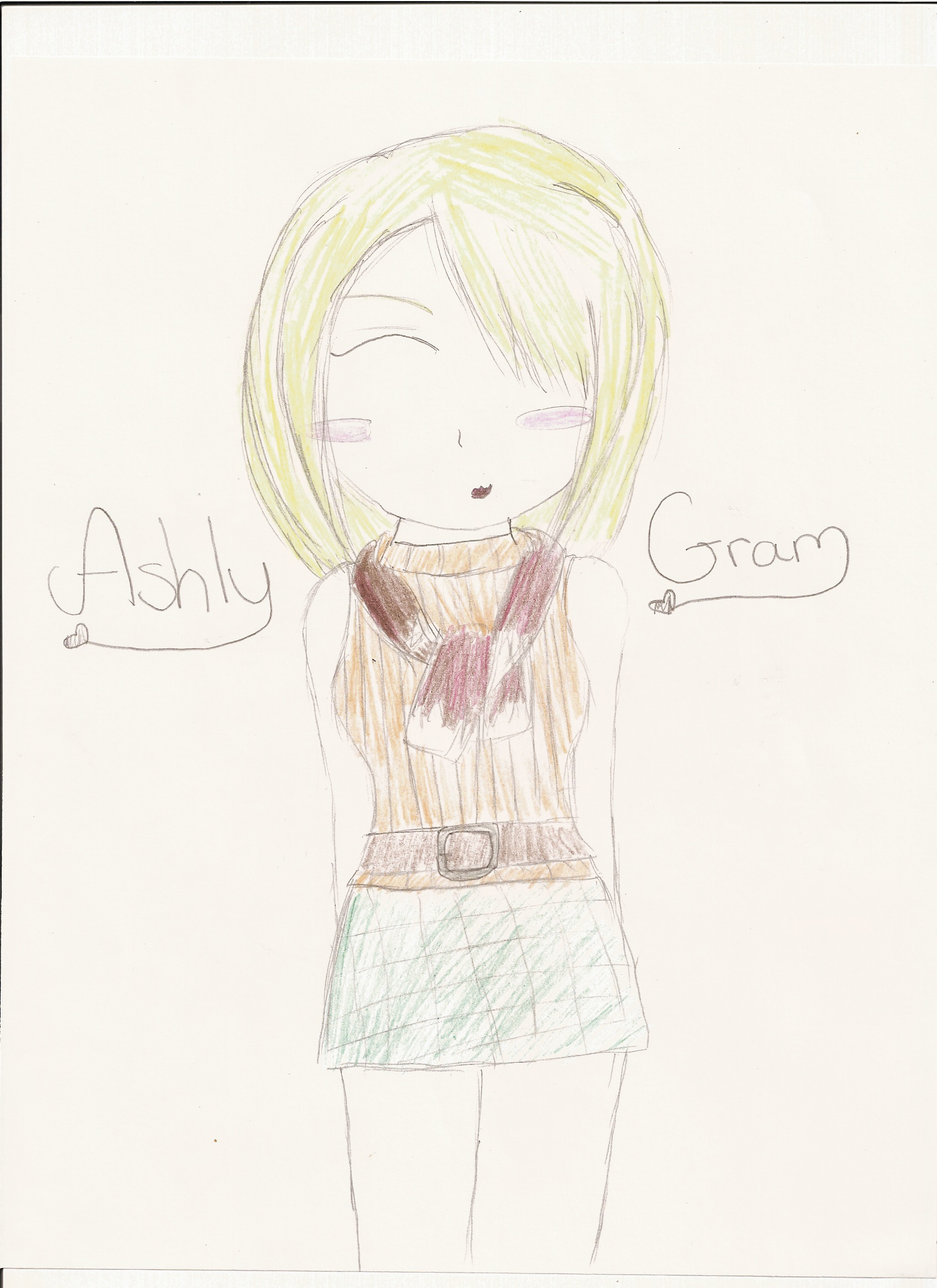 Ashly Gram by Kimikoprincesspancho