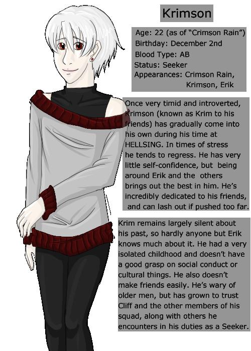 Profile 2- Krimson by KingdomHeartShera