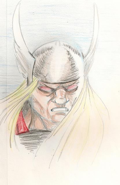 Thunder God by KiroK