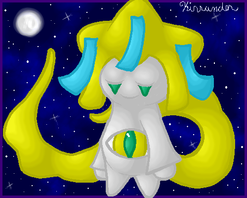 Jirachi,Granter of Wishes by Kirrander