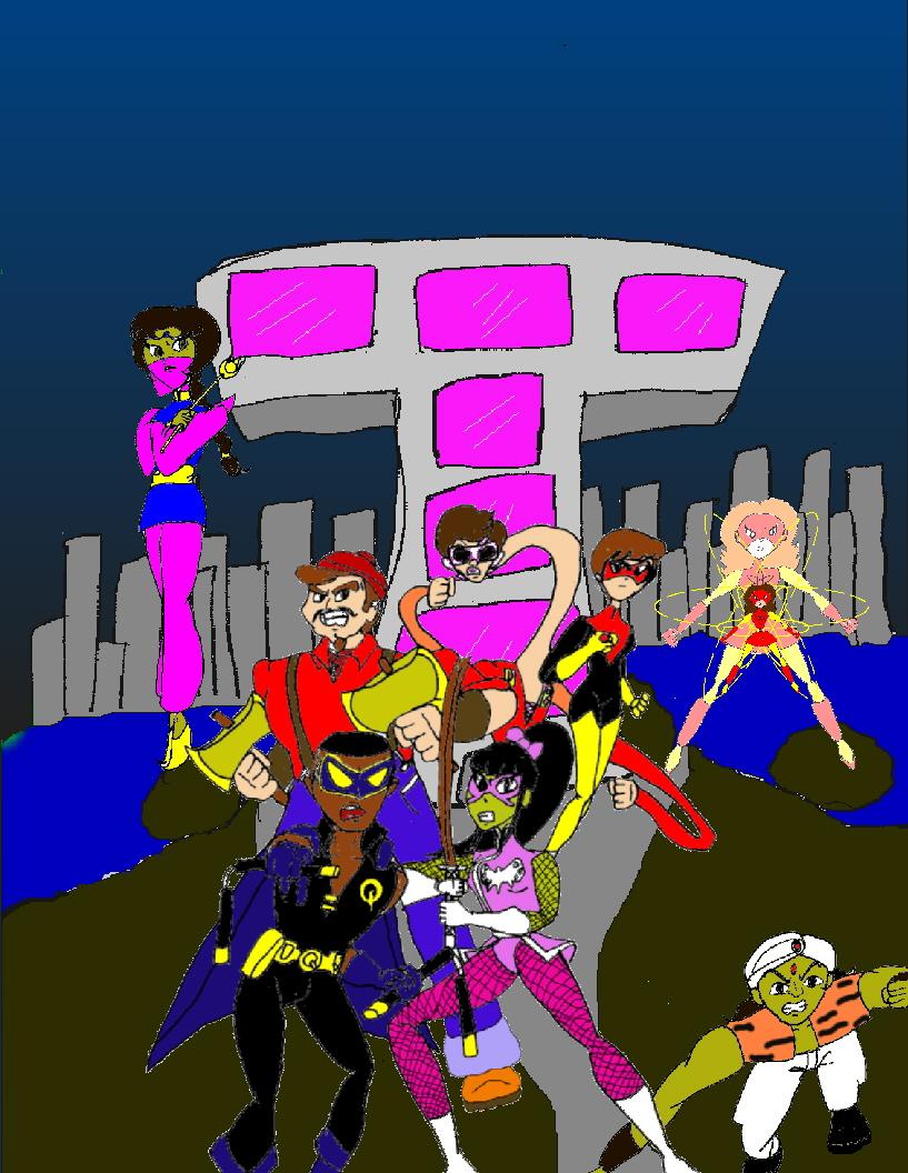Teen Titans Underground by KiteBoy1